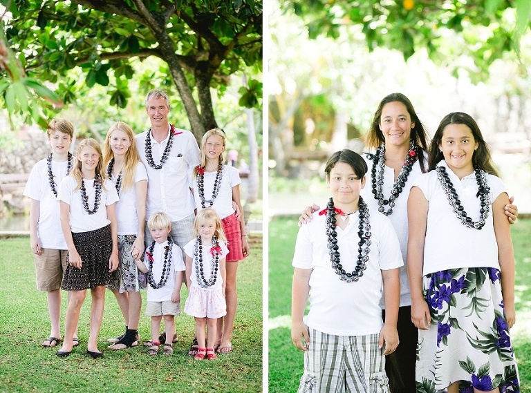 Family photo PCC Hawaii