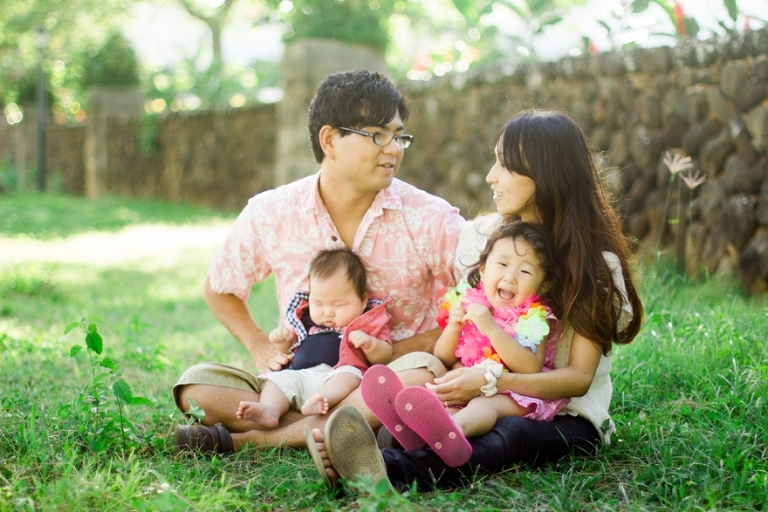 Temple Hawaii family session