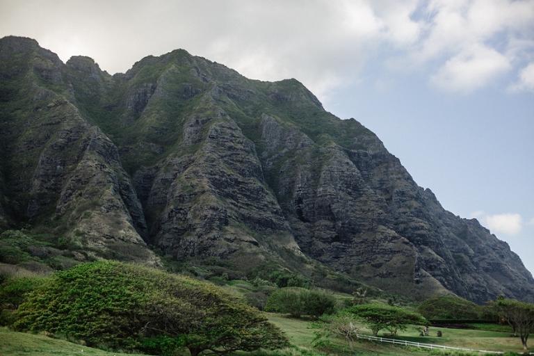 Kualoa mountain