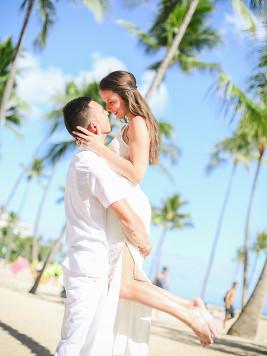 best hawaii couple photo