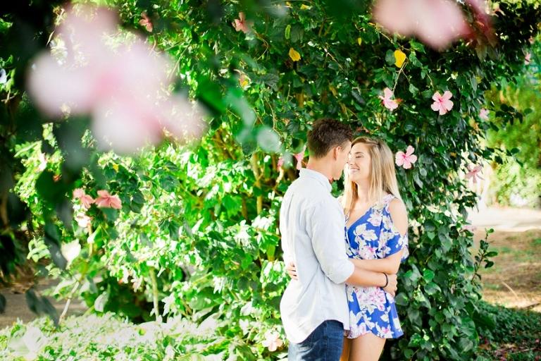 hibiscus flower engagement