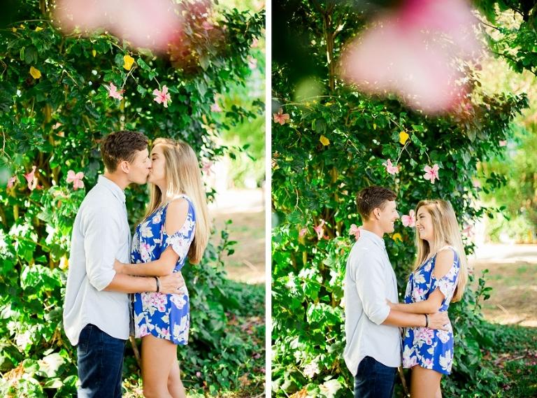 hibiscus flower couple