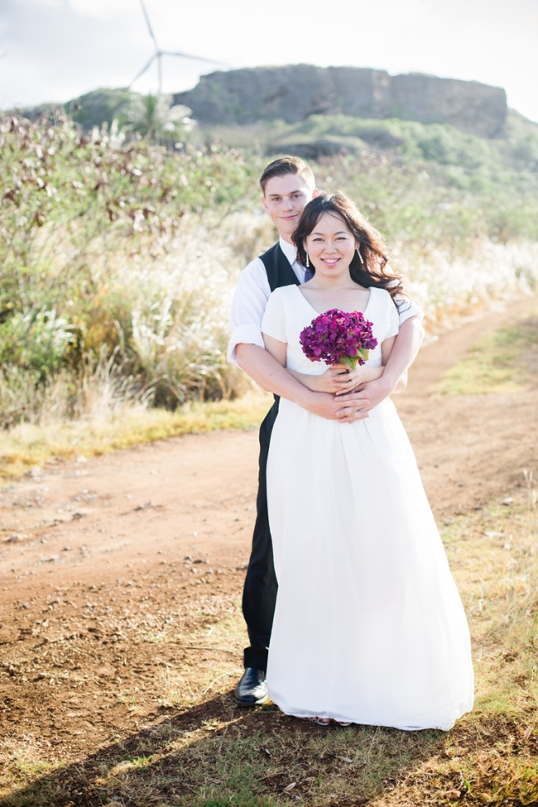 kahuku bridal photo