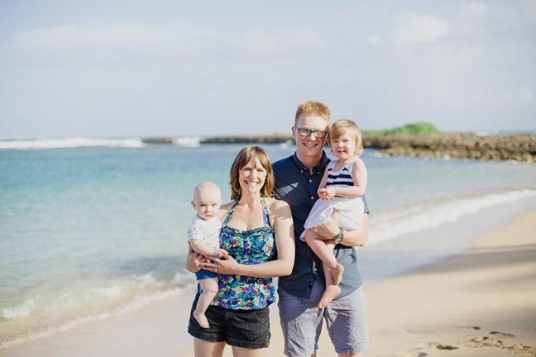 family beach portrait