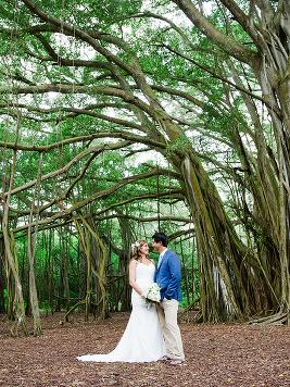 Oahu Nature Inspired Wedding