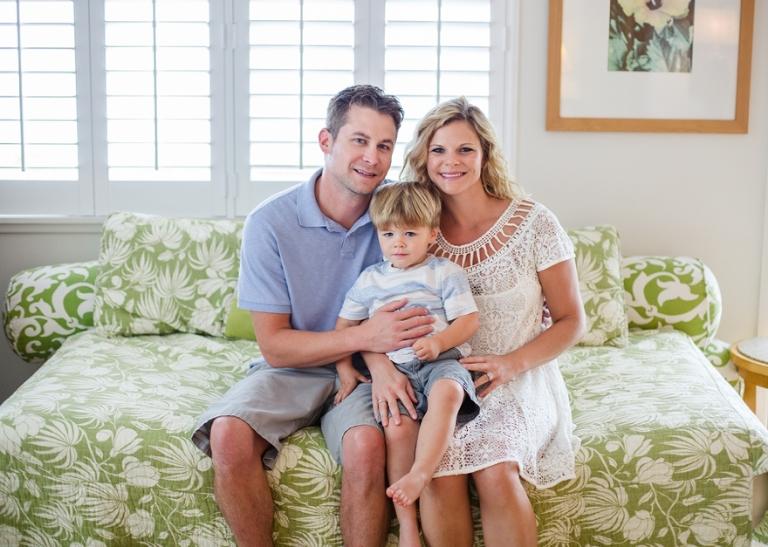 family portrait indoor