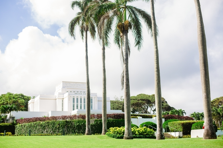 Hawaii Laie LDS Temple