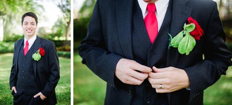 groom formal shot
