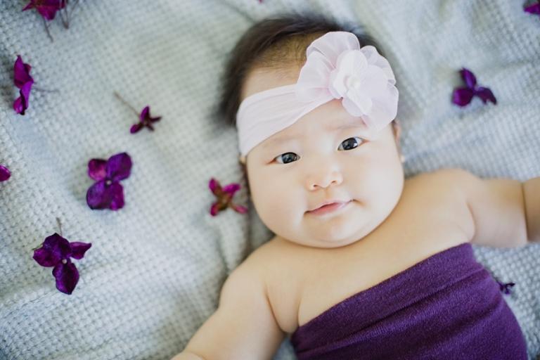 Hydrangea theme baby