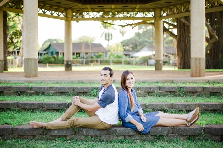 Haleiwa Engagement photo