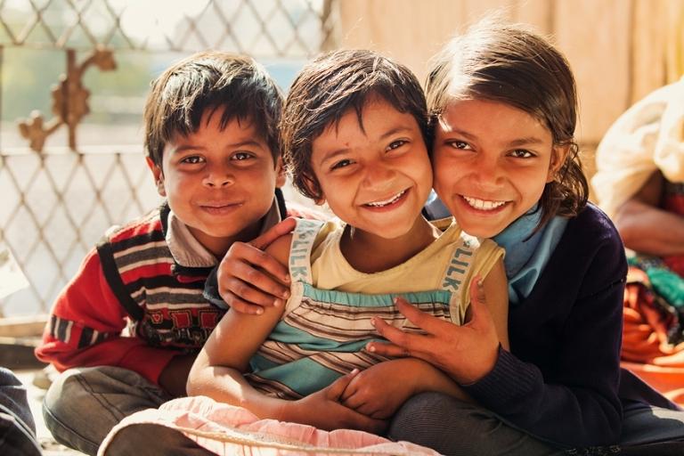 Rice Love happy children