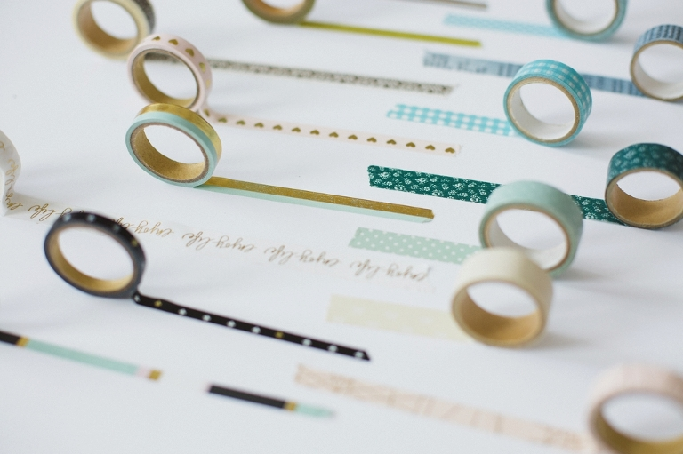 Washi Tapes DIY to Organize your desk
