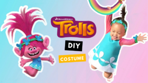Trolls princess Poppy DIY costumes